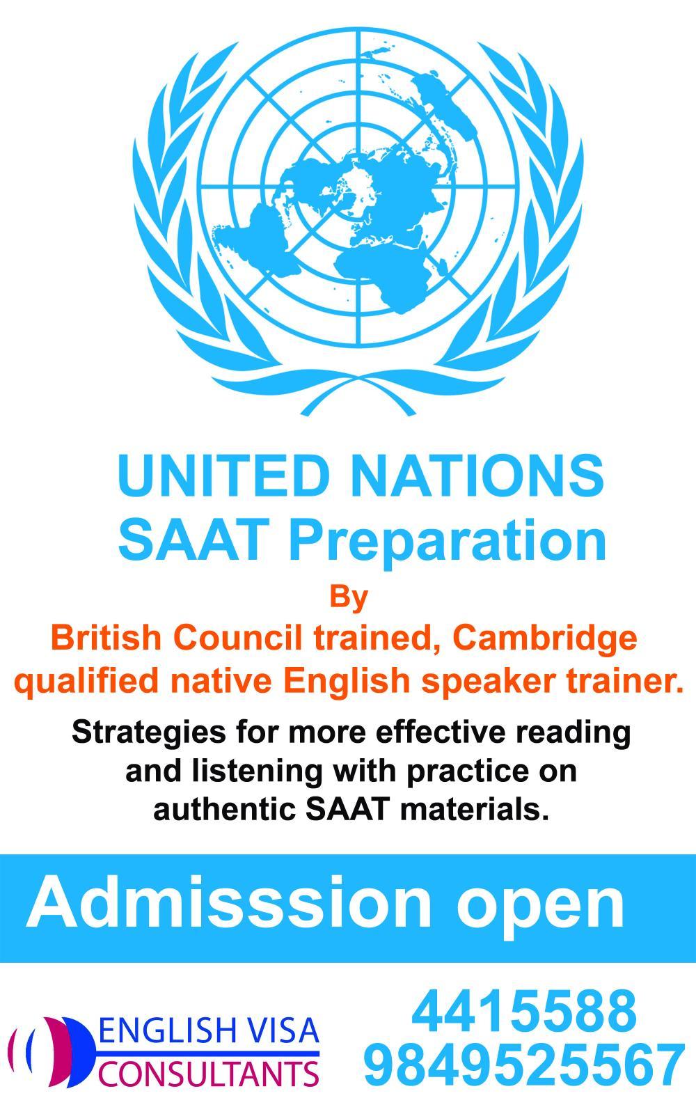 UN SAAT preparation clases